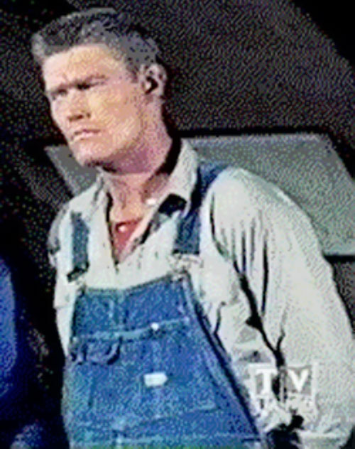 Sylvester Superman (Chuck Connors in Adventures of Superman)