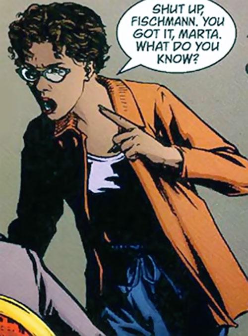 Synaesthesia Jackson (Top Ten comics)