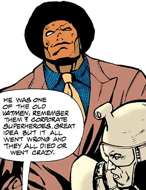 Synth (Aztek enemy) (DC Comics)