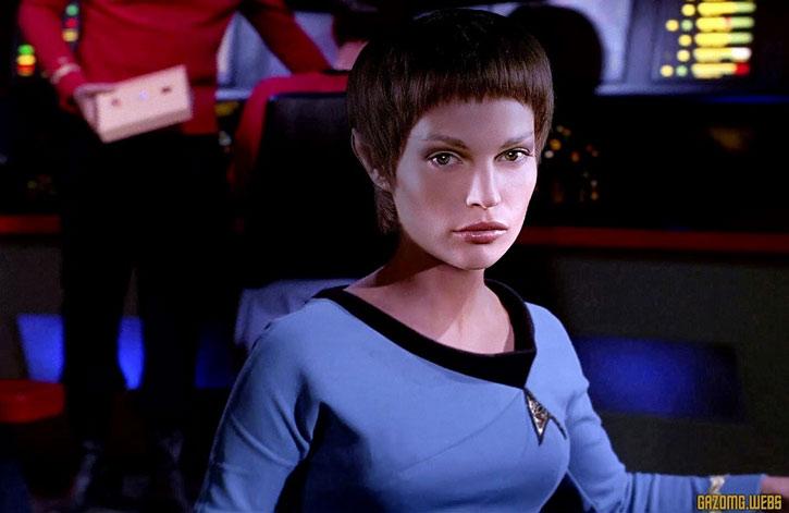 T'Pol (Jolene Blalock in Star Trek Enterprise) art by Gazomg
