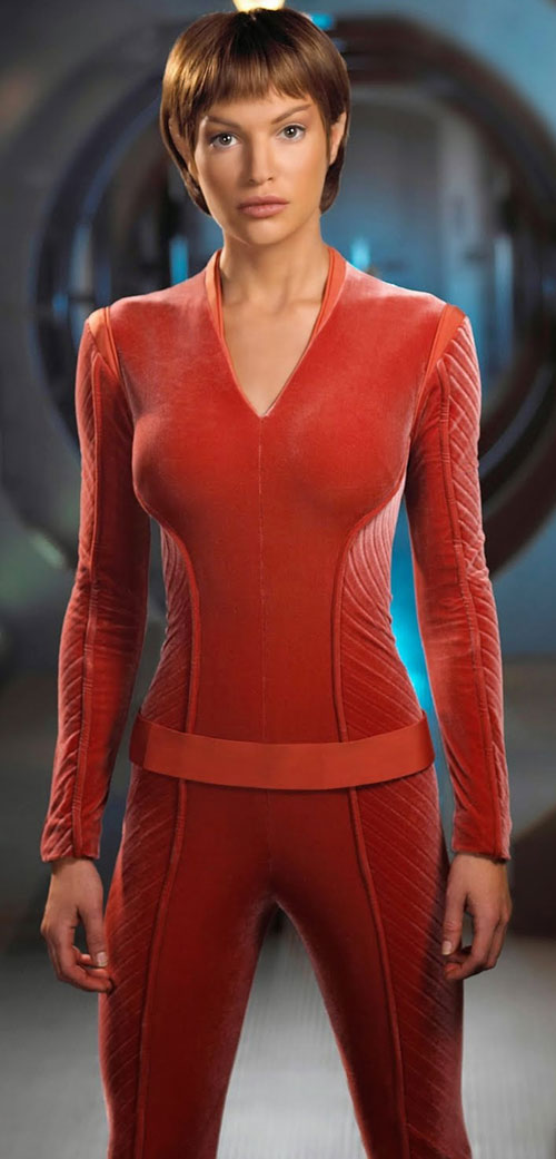 T'Pol (Jolene Blalock in Star Trek Enterprise)