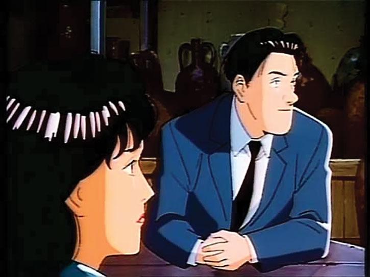 Taichi Hiraga Keaton in a pub