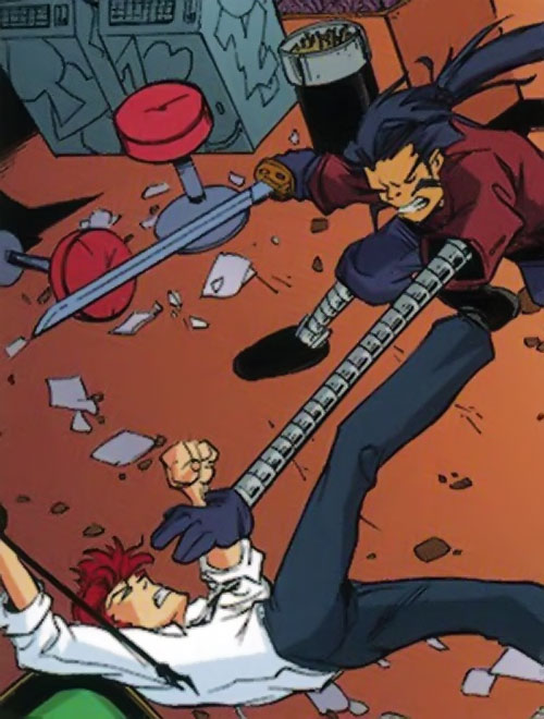 Takematsea (Spyboy comics) vs. Spyboy