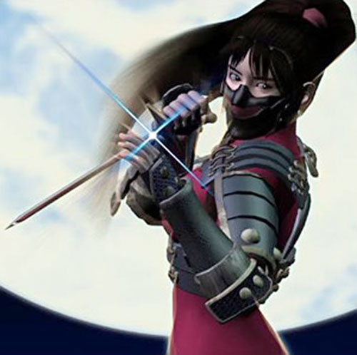 Taki (Soul Calibur) with her mask on