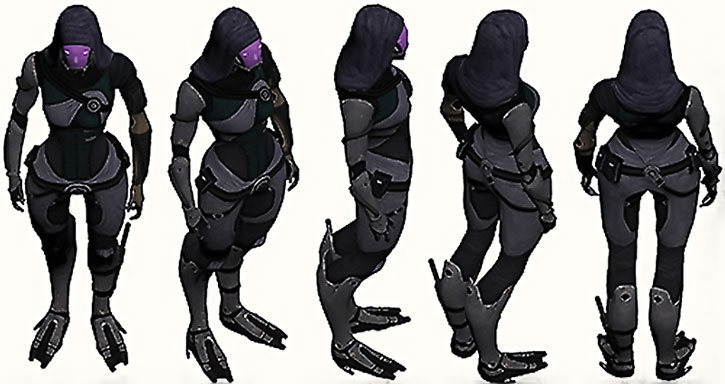 Tali nar Rayya model sheet rotation