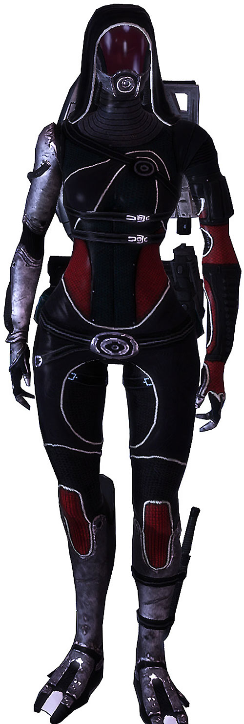 Tali'Zorah (Mass Effect) in Colossus armor