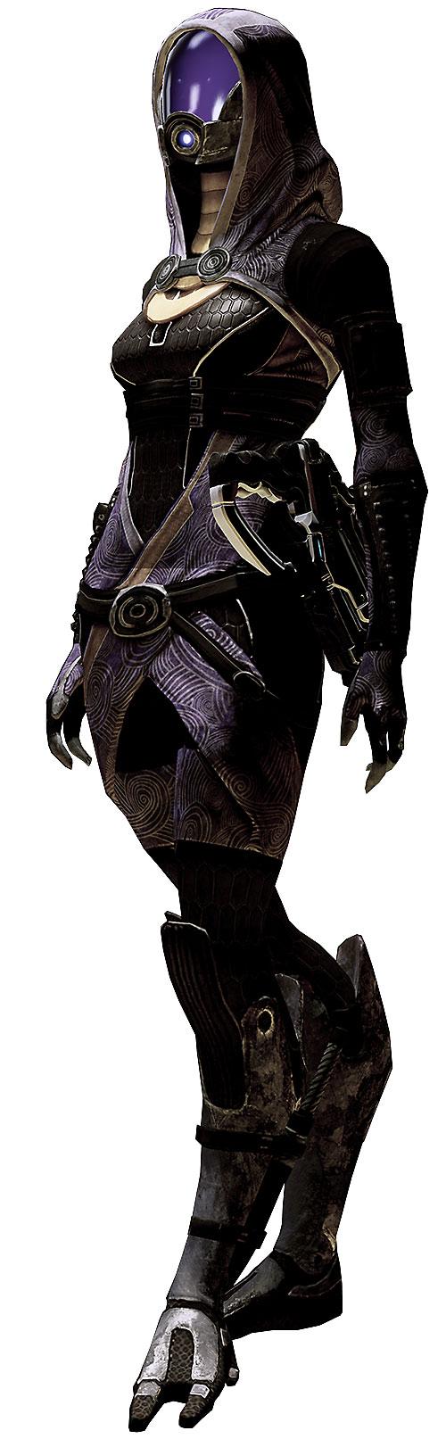 Tali'Zorah vas Normandy (Mass Effect) high resolution model