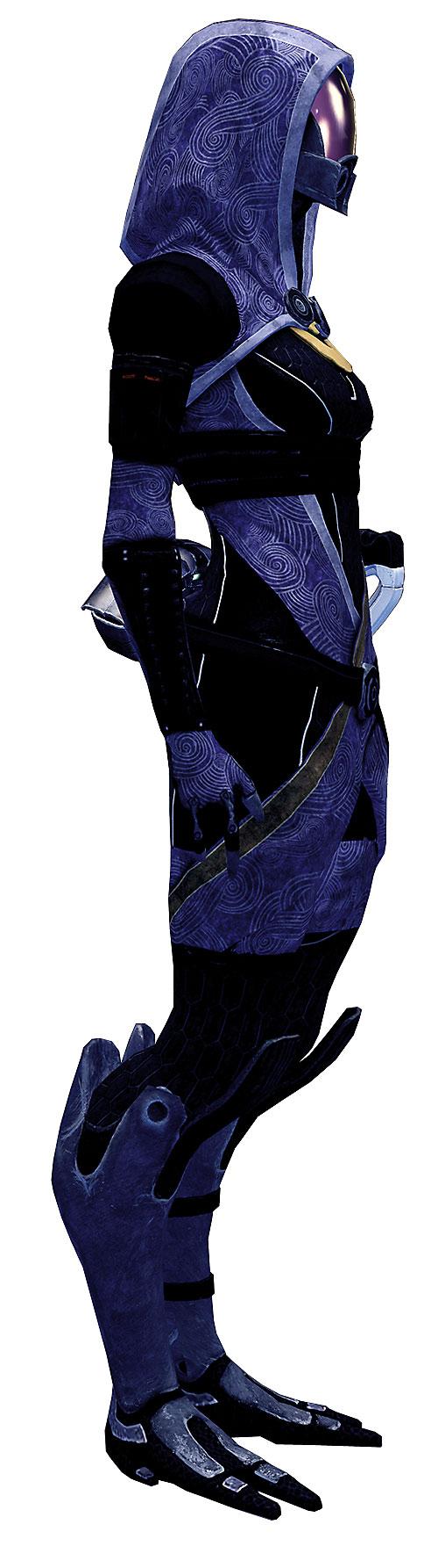 Tali'Zorah vas Normandy (Mass Effect) high resolution model side view