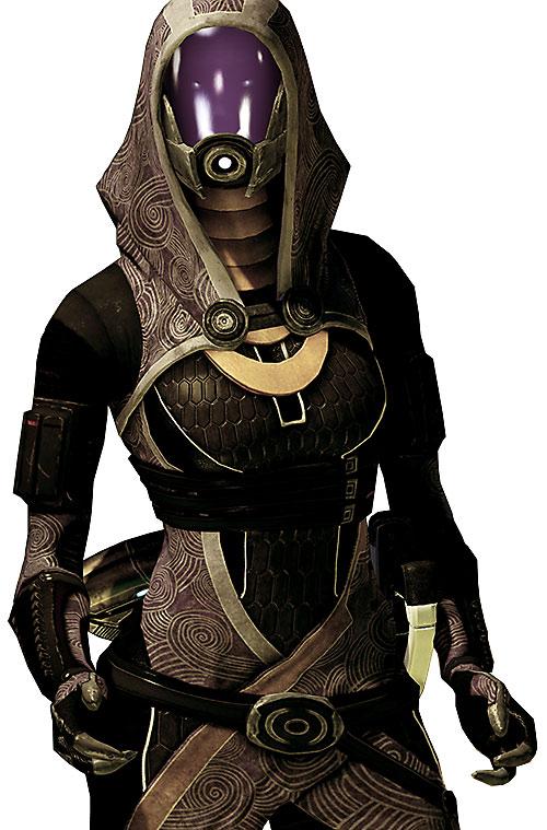 Tali'Zorah vas Normandy (Mass Effect) emoting, sort of
