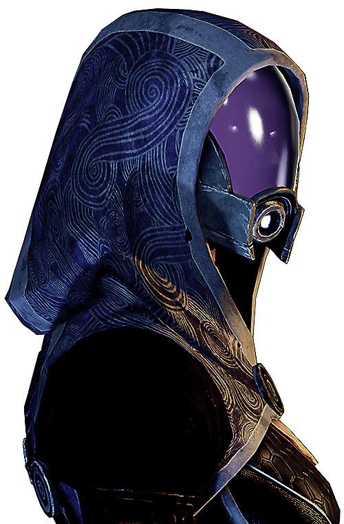 Tali'Zorah vas Normandy (Mass Effect) portrait side view