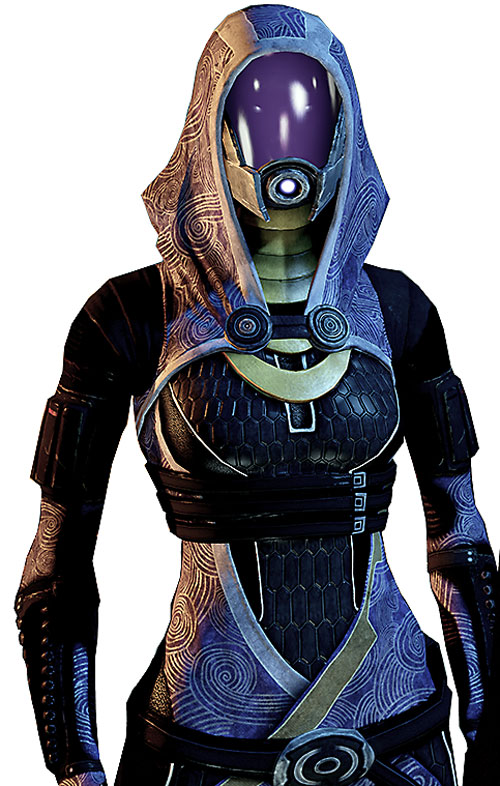 Tali'Zorah vas Normandy (Mass Effect) upper body