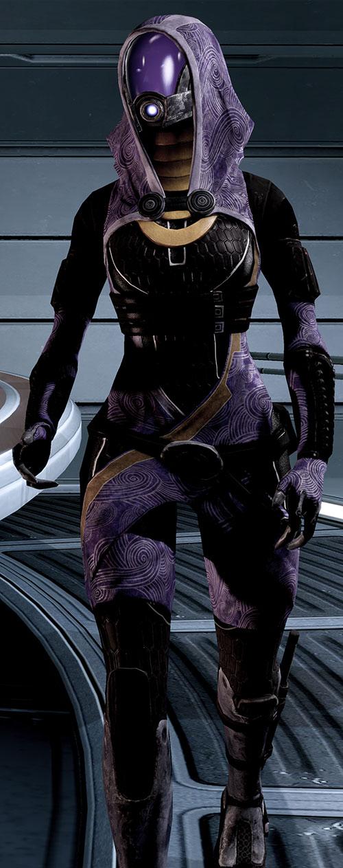 Tali'Zorah vas Normandy (Mass Effect) walking