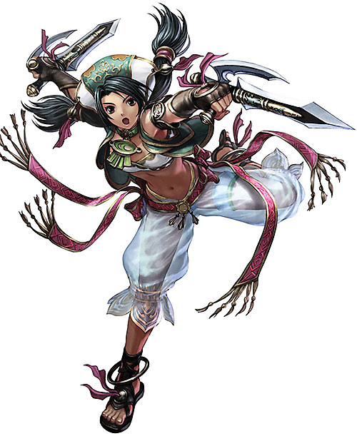Talim (Soul Calibur) with her hat