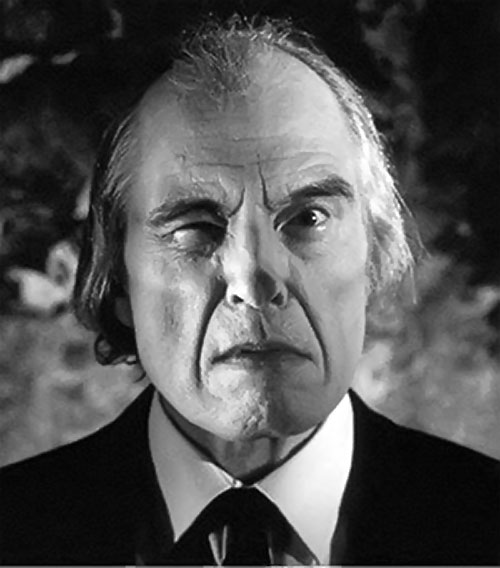 The Tall Man (Angus Scrimm in Phantasm movies) portrait