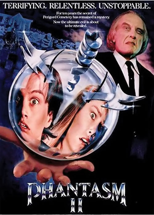 Phantasm II movie poster