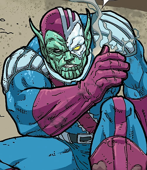 Talos the Untamed (Marvel Comics) during the Annihilation