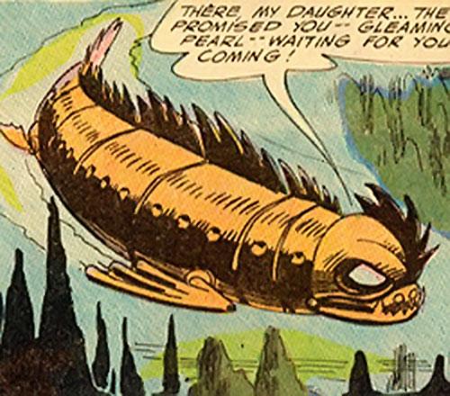 Tamerkhan the Cruel (Aquaman enemy) submarine