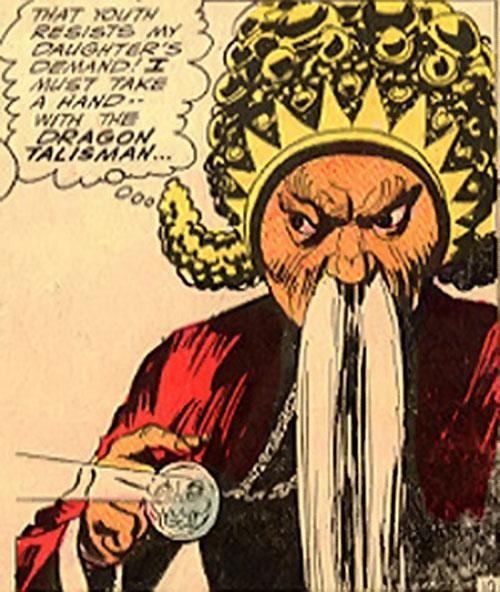 Tamerkhan the Cruel (Aquaman enemy) (DC Comics)