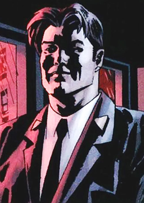 TAO from WildCATs and Sleeper (Wildstorm Comics) in shadows