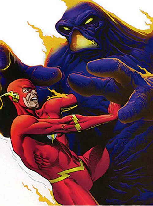 Tar Pit vs. the Flash (DC Comics)