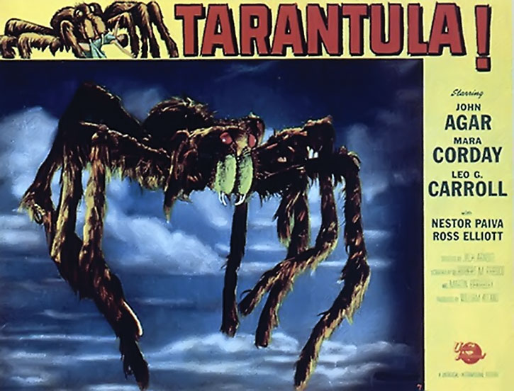 Tarantula 1955 movie poster