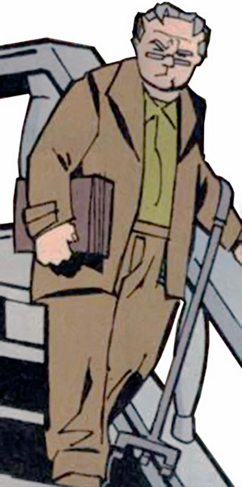 Tarantula (John Law) (DC Comics) as a retiree