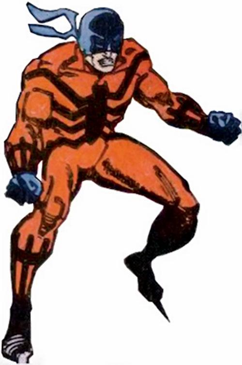 Tarantula (Luis Alvarez) (Spider-Man enemy) (Marvel Comics) ready for action