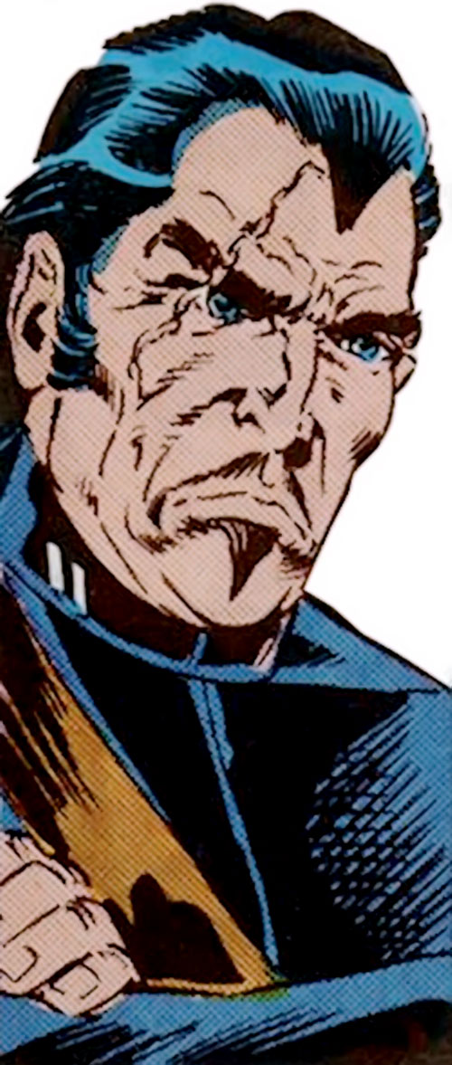 Tarantula (Luis Alvarez) (Spider-Man enemy) (Marvel Comics) out of costume