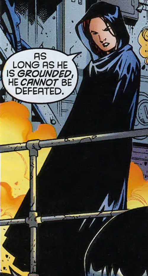 Tarot of the Hellions (New Mutants character) (Marvel Comics) in black hooded robes