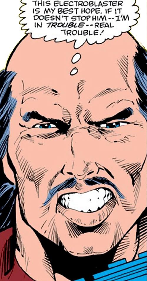 Taurus (Cornelius van Lunt) face closeup