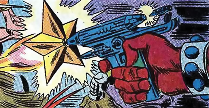 Taurus (Cornelius van Lunt)'s star blaster