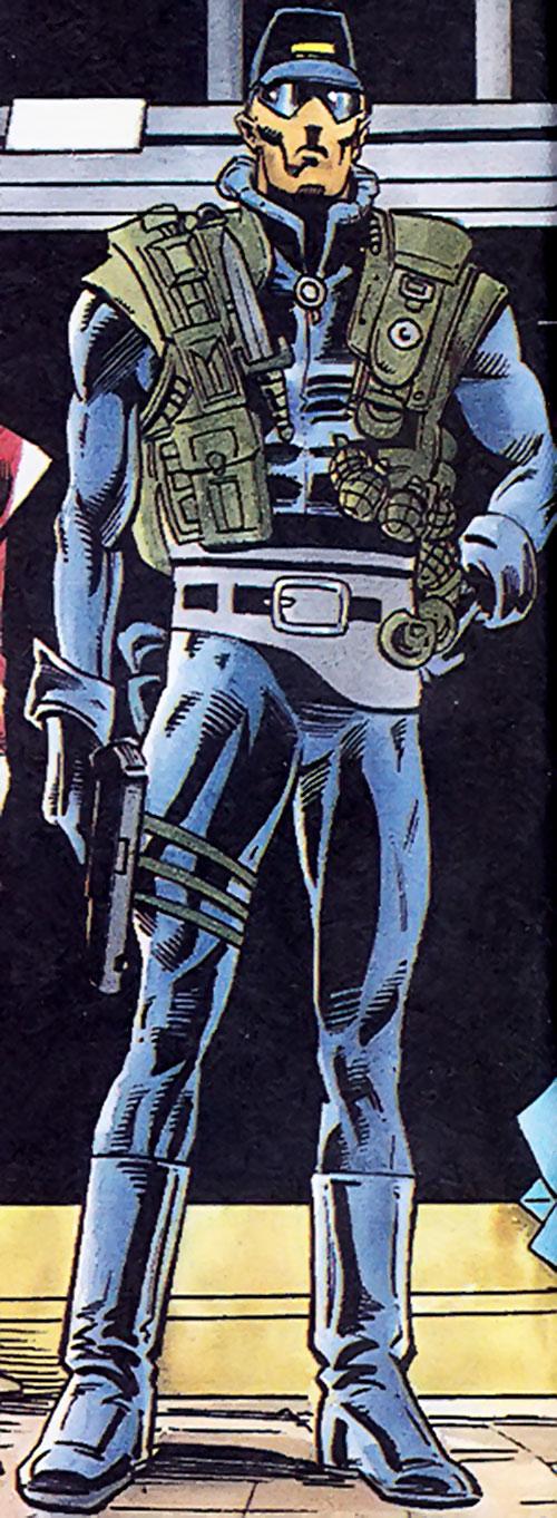 Tech-9 of the Blood Syndicate (Milestone Comics)