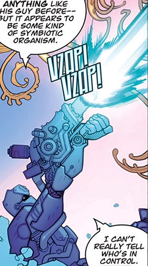Tech Jacket (Image Comics) big arm cannon
