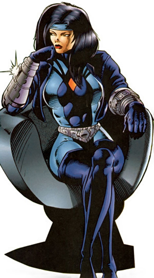 Tech (Lela Cho of the Solution) (Ultraverse Malibu comics)