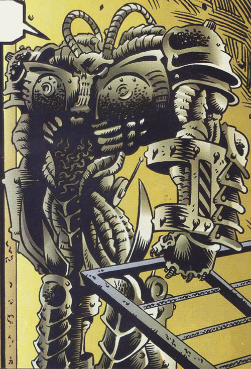 Teknight robot (Ultraverse Malibu comics)  (Night Man enemy)