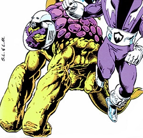 Tellus of the Legion of Super-Heroes (DC Comics) and Polar Boy