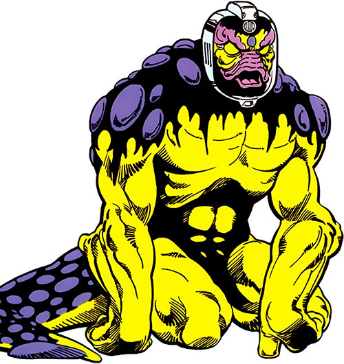 Tellus of the Legion of Super-Heroes (DC Comics)