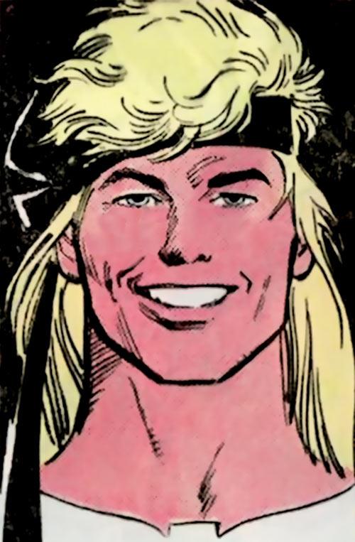 Tempest (Atari Force) (DC Comics) portrait Garcia Lopez DC Sampler