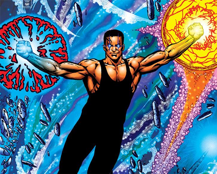 Tempest (Garth) casting spells underwater