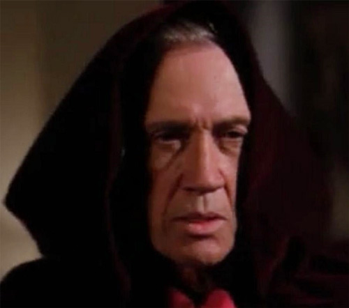 Tempus (Charmed demon) (David Carradine) - with monk style hood