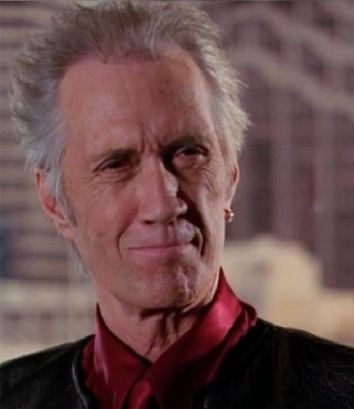 Tempus (Charmed demon) (David Carradine) - stiff smile
