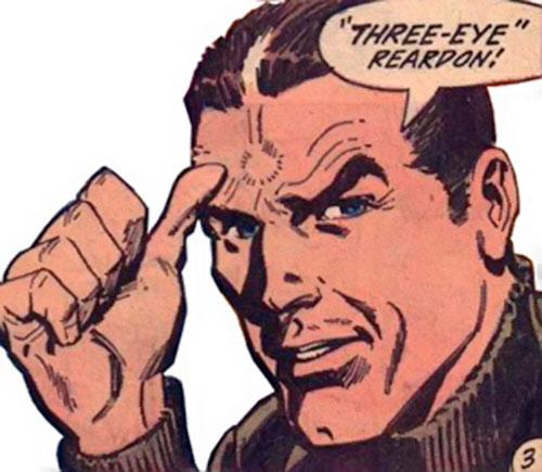 10-Eyed Man (Batman enemy) (DC Comics) face closeup