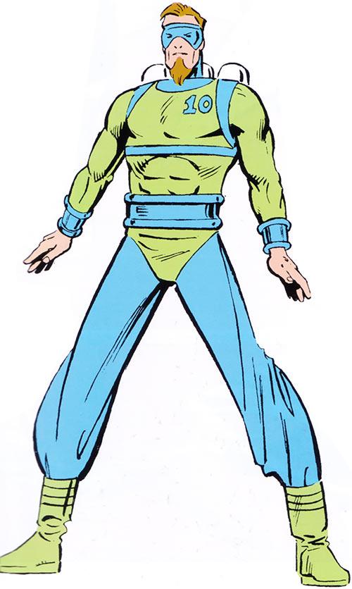 Tenpin of the Death-Throws (Hawkeye enemy) (Marvel Comics)