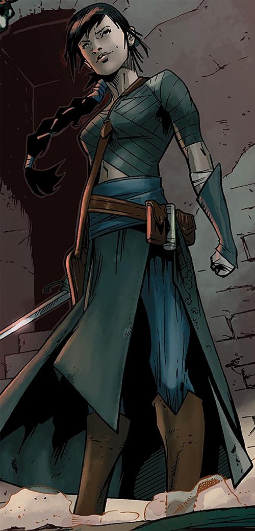 Tessa the Magekiller (Dragon Age comics)