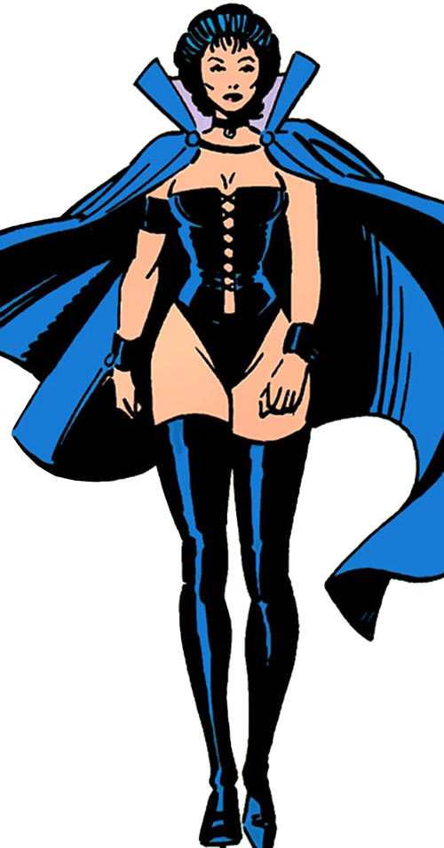 Tessa of the Hellfire Club (Marvel Comics X-Men) walking
