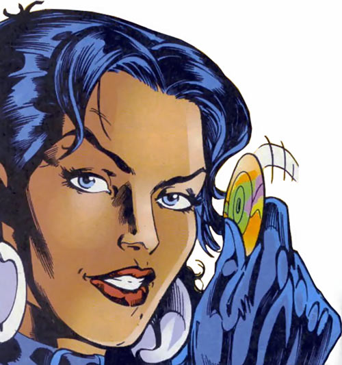 Tessa of the Hellfire Club (Marvel Comics X-Men) smiling CD