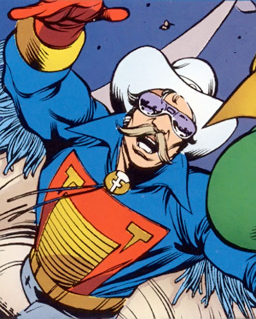 Texas Twister (Marvel Comics) with mirror shades