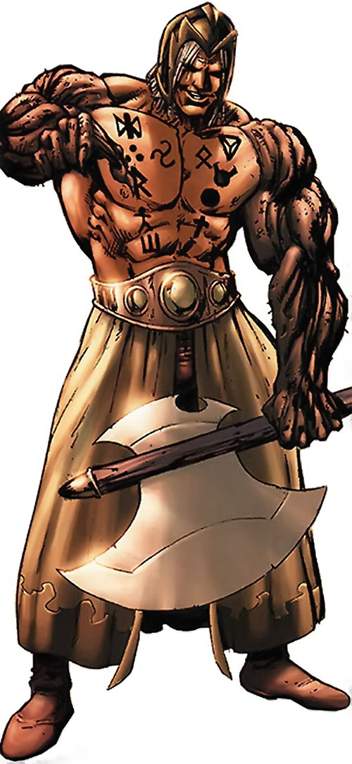 Thanador (Claw the Unconquered and Red Sonja enemy) (Wildstorm comics)