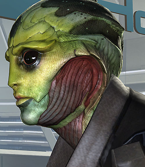 Thane Kryos (Mass Effect) face side high res