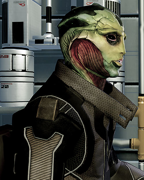 Thane Kryos (Mass Effect) side view